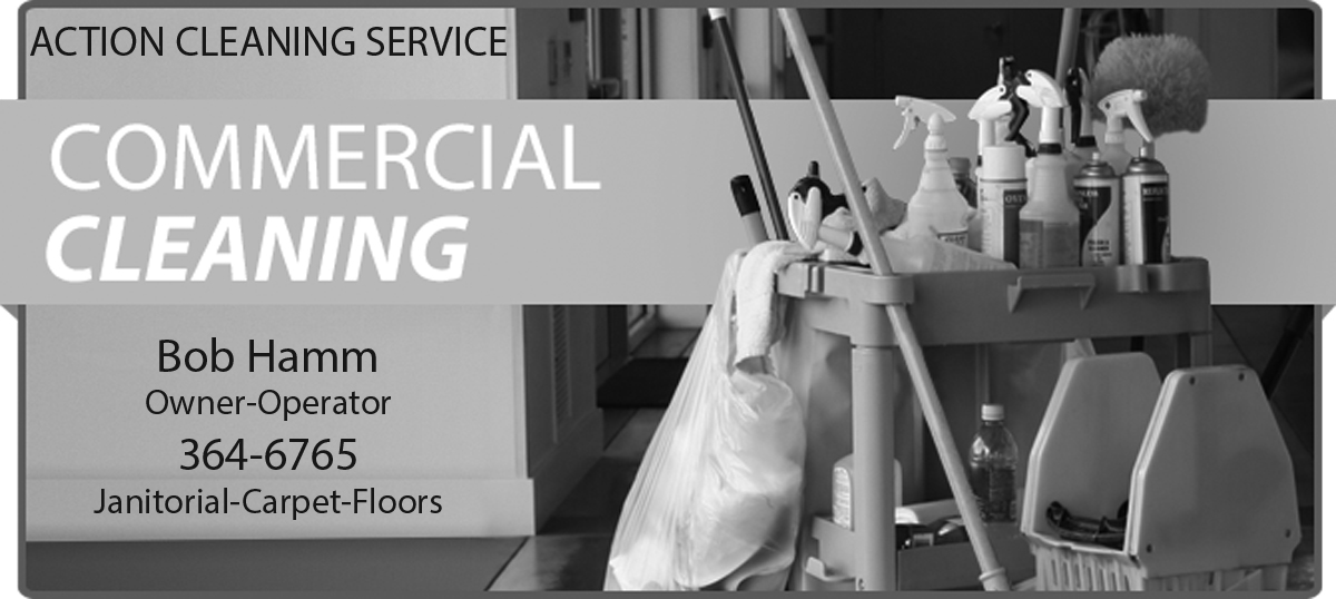Action Cleaning Service Advertisement