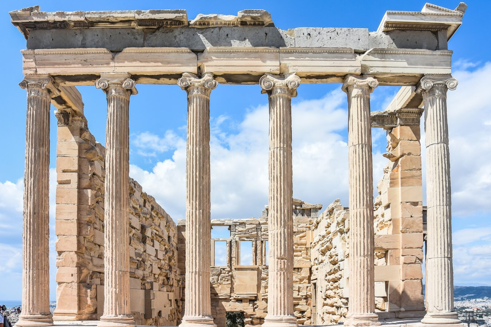Acropolis in Ancient Greece
